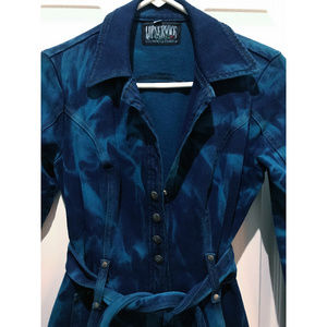 Vintage Lip Service Glaciered & Overdyed Jacket